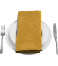 Alpine Napkin Gold