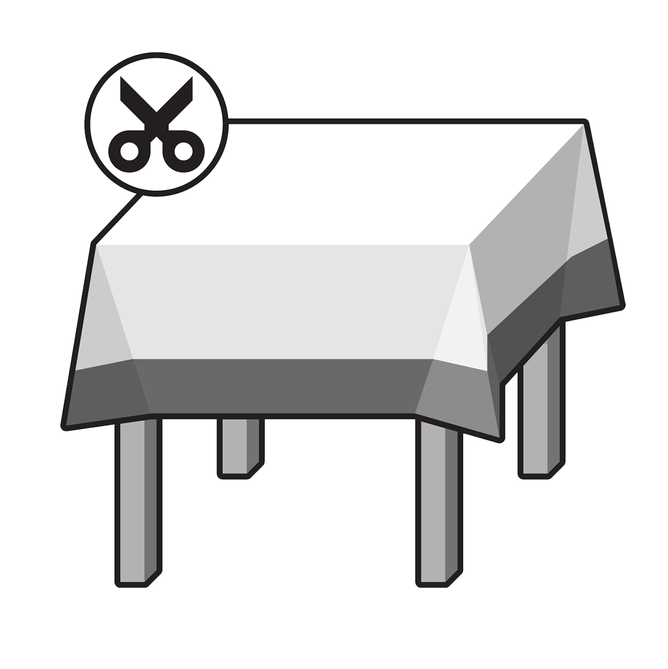 Border Tablecloth