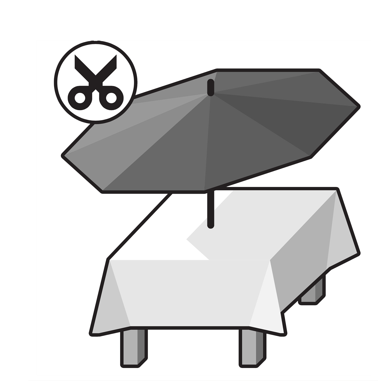 Parasol Tablecloth